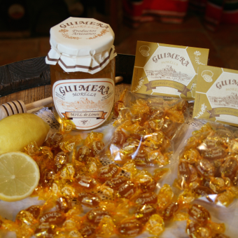 Candies with Honey and Lemon