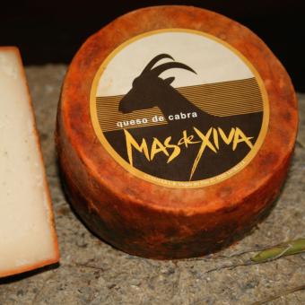 "Cured goat cheese ""Mas de Xiva"""